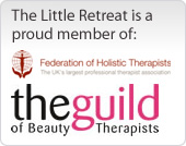 The Little Retreat offering beauty and holistic therapies for the face and body in Worthing West Sussex